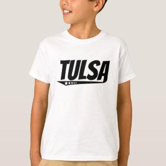 Logotipo retro de Tulsa Camiseta