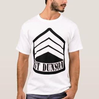 LOGOTIPO wh/Blk de SGT DUNSON Camiseta