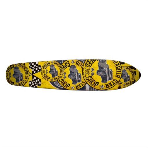 Loja da velocidade dos hot rod skates personalizados