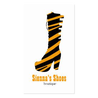 Loja de calçados cartão de visita