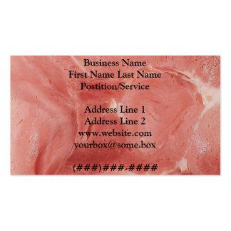 Loja de carne modelo cartões de visitas