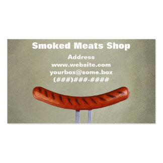 Loja de carnes fumado