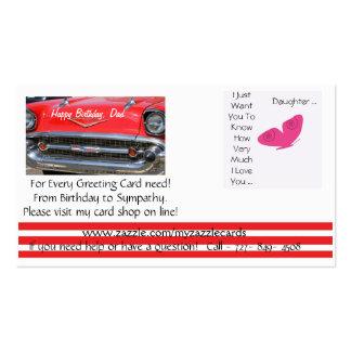 Loja de cartão em linha de Myzazzlecards Modelos Cartão De Visita