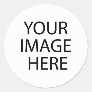 Loja de roupa de Girbaut Adesivo Em Formato Redondo
