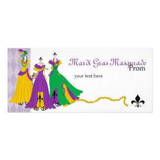 Loja de vestido do carnaval 10.16 x 22.86cm panfleto
