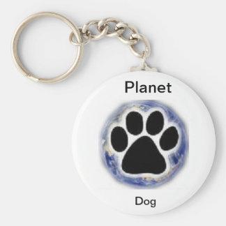 Loja do cão do planeta chaveiro
