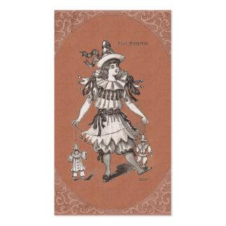 Loja do estilista do vintage/roupa do vintage cartão de visita