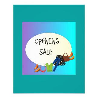 Loja que abre o insecto de Sale> Panfleto Personalizados