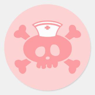 Lolly da enfermeira adesivo