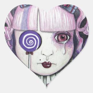 lolly jpg adesivos em forma de corações