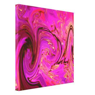 Lona envolvida abstract61 colorido impressão em tela