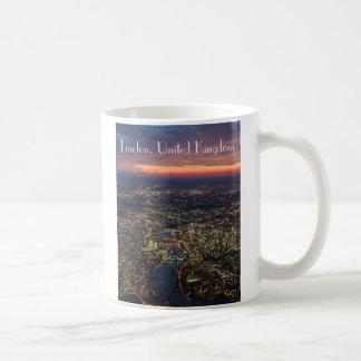 Londres anoitecer Luftbild taça Caneca De Café