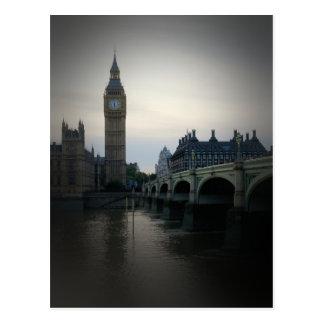 Londres - cartão de Big Ben