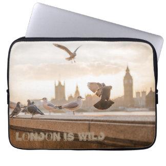 Londres é caixa selvagem do laptop capa para laptop