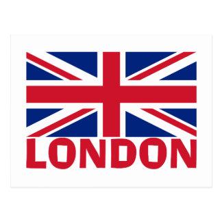 Londres no vermelho cartão postal