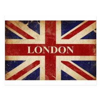 Londres - Union Jack - amor Londres de I Cartão Postal