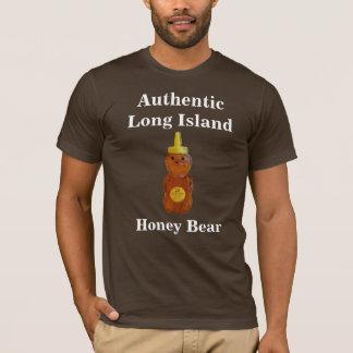 Long Island autêntico, urso de mel… - Camiseta