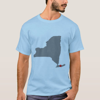 Long Island, camisa de NY T (básico)