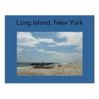 Long Island, cartão da praia de New York Jones