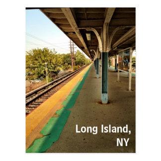 Long Island, cartão de New York