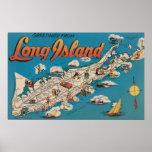 Long Island, New York - cumprimentos de Impressão