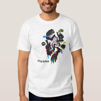 longarm-tshirt, bmx do vírus tshirt