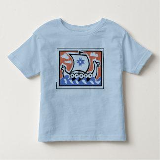 Longboat de Viking Camiseta Infantil