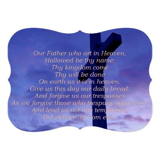 lords-prayer-3 convite personalizado