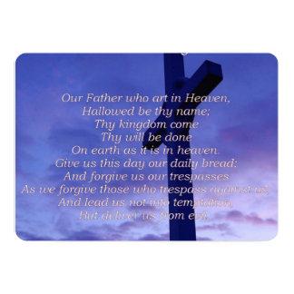lords-prayer-3 convite 12.7 x 17.78cm