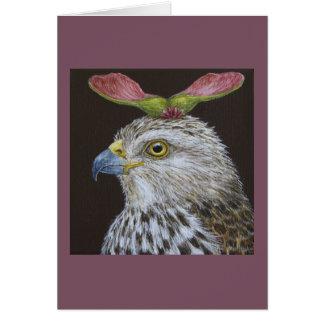 Loretta o cartão do falcão do tanoeiro