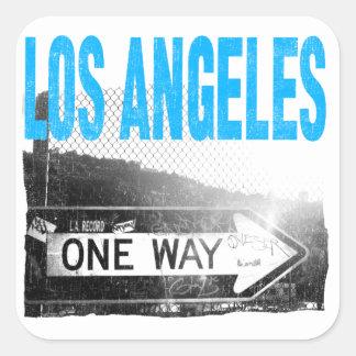 Los Angeles Adesivo Quadrado