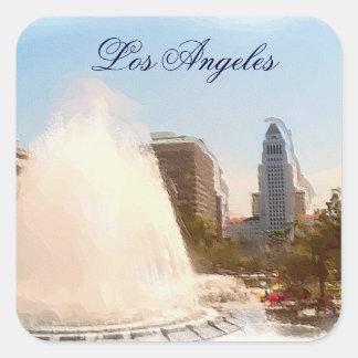 Los Angeles, câmara municipal do centro &