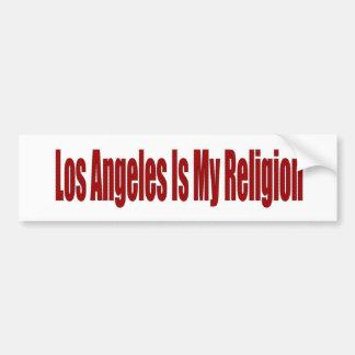 Los Angeles é minha religião Adesivo Para Carro