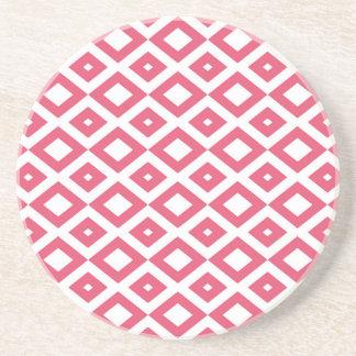 Losango Pink Porta Copo