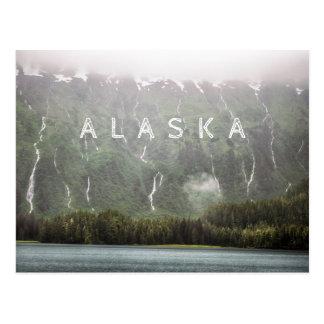 Lotes das cachoeiras - cartão de Alaska | Cartão Postal