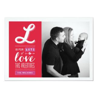 Lotes do cartão com fotos do dia dos namorados do