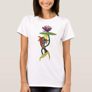 Lotus de fluxo camiseta