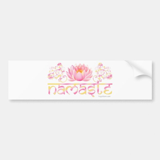 Lótus de Namaste novos Adesivos