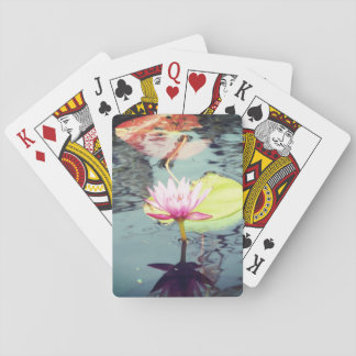 Lotus e Waterlily Jogo De Baralho
