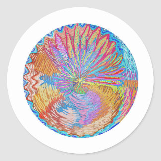 Lotus: Um estilo diferente por Naveen Joshi Adesivos Em Formato Redondos