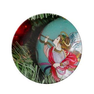 Louça Anjo do Natal - arte do Natal - decorações do anjo