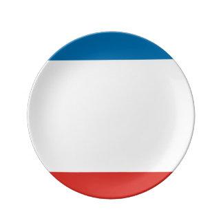 Louça Bandeira de Crimeia