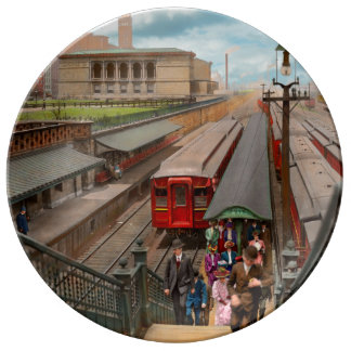 Louça Cidade - Chicago - a estação 1907 da rua de Van