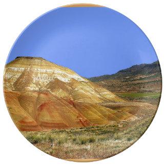 Louça Colinas e montanha pintadas de Carroll