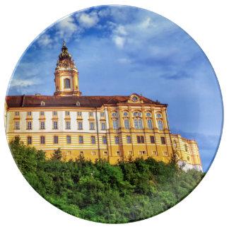 Louça De Jantar Abadia do licor beneditino, Melk, Áustria