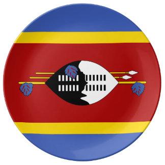 Louça De Jantar Bandeira de Suazilândia