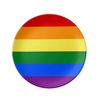 Louça De Jantar Bandeira do arco-íris