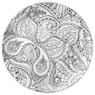 Louça De Jantar Borboleta floral decorativa - o múltiplo colore o