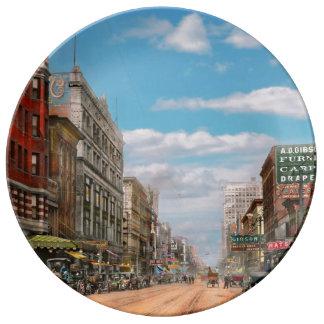 Louça De Jantar Cidade - Memphis TN - alameda 1909 da rua