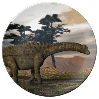 Louça De Jantar Dinossauro do Ampelosaurus